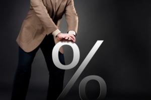 Процент снижается